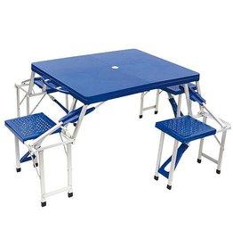 Bo-Camp Bo-Camp - Family tafel - Special - Inklapbaar - Blauw