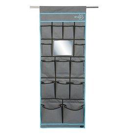 Bo-Camp Bo-Camp - Tentschort - 14-Vaks - Met spiegel - 48x123 cm