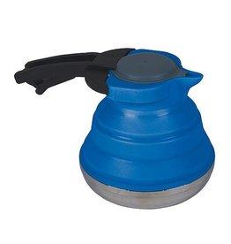 Bo-Camp Bo-Camp - Theeketel - Opvouwbaar - 1,2 Liter  - Siliconen/RVS