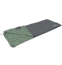 Bo-Camp Bo-Camp - LeevZ - Slaapzak - Cedar - 220x90 cm - Groen/Antraciet