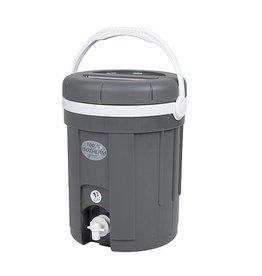 EDA EDA - Water-/Sapcontainer - Met kraan - Grijs - 4 Liter