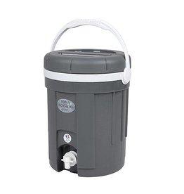 EDA EDA - Water-/Sapcontainer - Met kraan - Grijs - 8 Liter