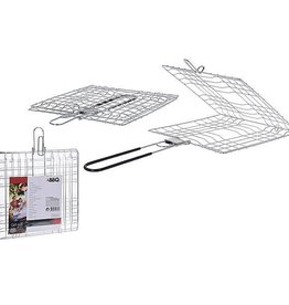 CampingMeister Barbecue grillrooster - Vlees - 22x22x41cm