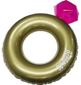 SunDaze Sundaze - Zwemband - Ring met Diamant - Ø92 cm