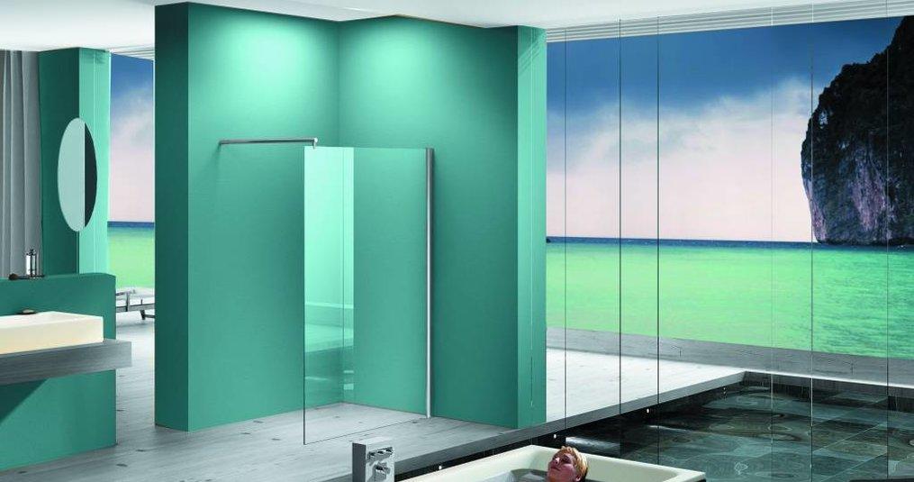 Een badkamer inloopdouche zorgt voor extra luxe