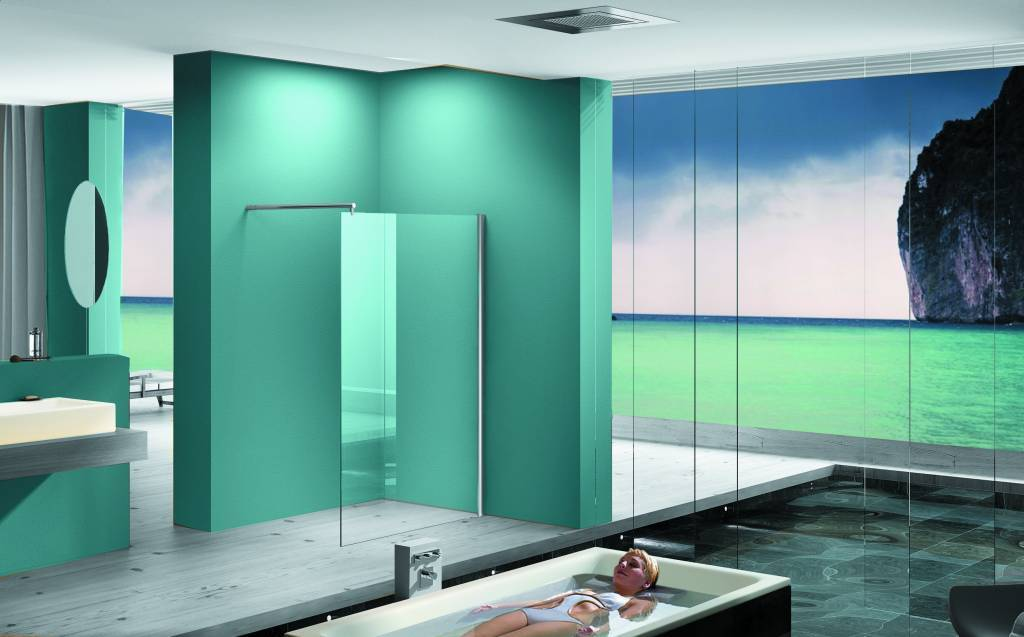 Inloopdouche Met Hoekfontein : Een badkamer inloopdouche zorgt voor extra luxe sanidream