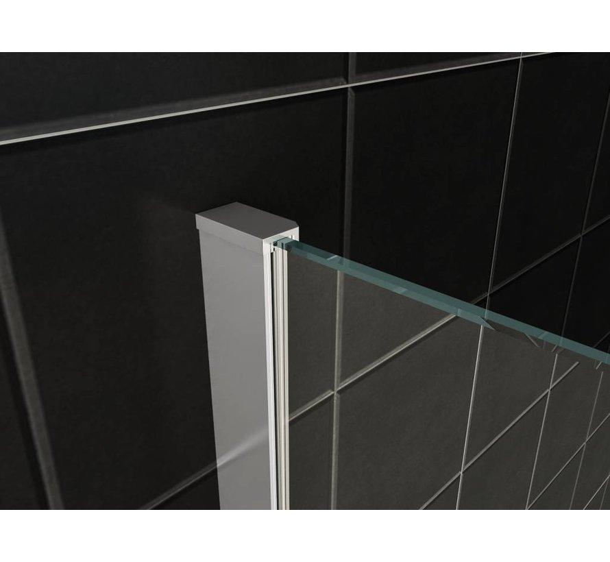 Enter ST douchedeur nisdeur 120 (60-60) x 200 cm helder glas