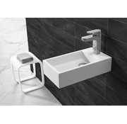 Solid Surface fontein rechts 40x22x10
