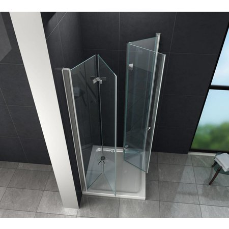 Douchecabine CLIP 100x100x195 cm met vouwdeuren