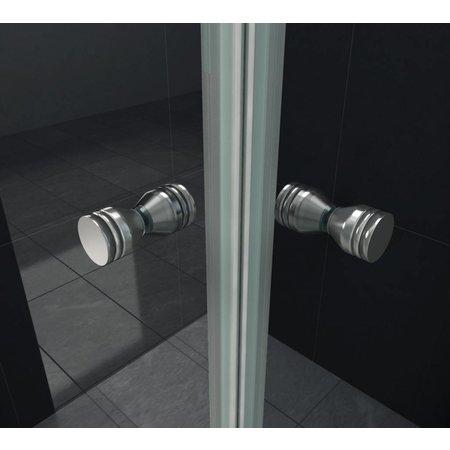 Douchecabine CLIP 100x80x195 cm met vouwdeuren