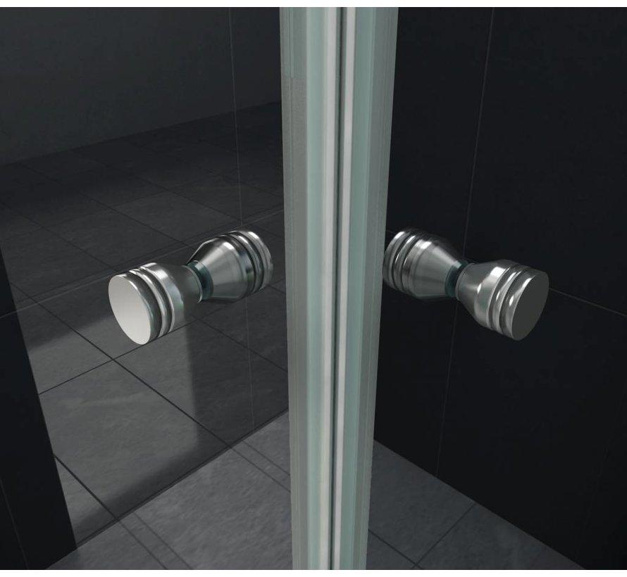 Clip douchecabine met vouwdeuren 90x90x195 cm