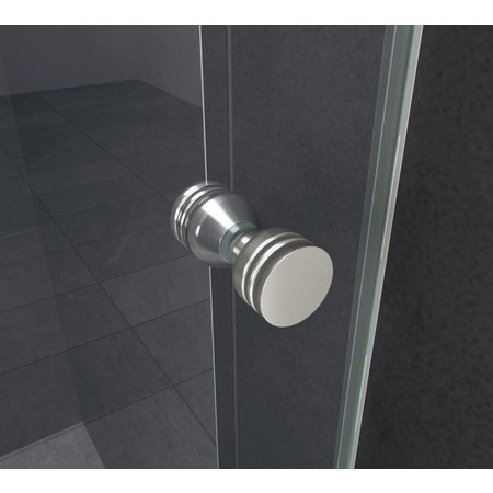 Douchedeur - nisdeur ENTER 95x195 cm, 8 mm veiligheidsglas