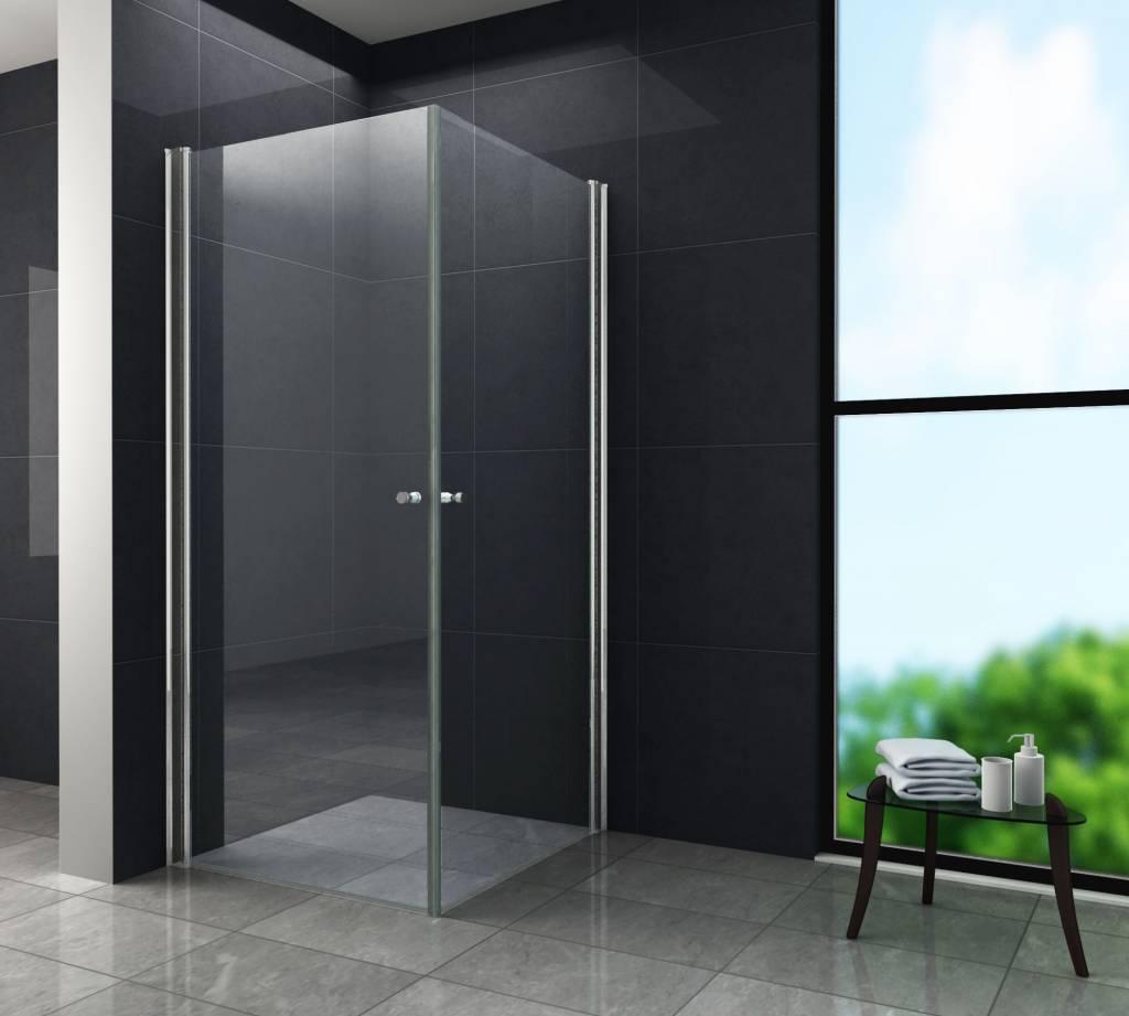 StalisDouchecabine hoekinstap rechthoek 90x100x190 cm binnen 4 tot 7 werkdagen in huis met voordeel