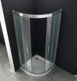 Douchecabine FRISO 80x80x195 cm kwartrond
