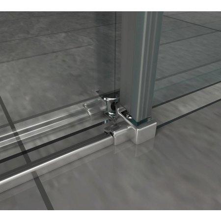 Schuifdeur - Douchedeur SLIDE-XL 170x195 cm 8 mm glas