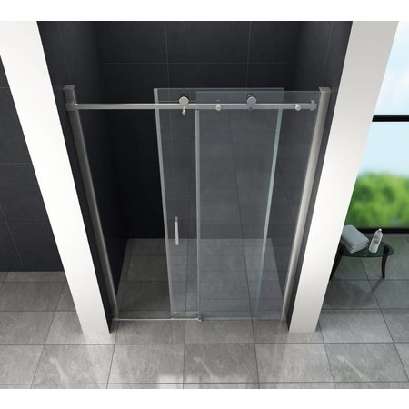 Schuifdeur - Douchedeur SLIDE 150x195 cm 8 mm glas
