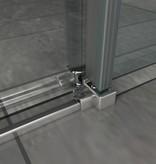Schuifdeur - Douchedeur SLIDE 125x195 cm 8 mm glas