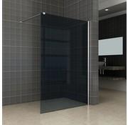Aqua-DarkInloopdouche 120x200 cm 10 mm donker glas