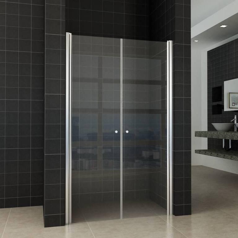 Wiesbaden Dubbele Pendeldeur In Nis 100x200 cm Helder Glas