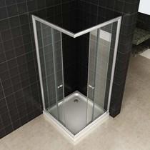 Douchecabine ECO 80x80x190 cm NANO - Vierkant