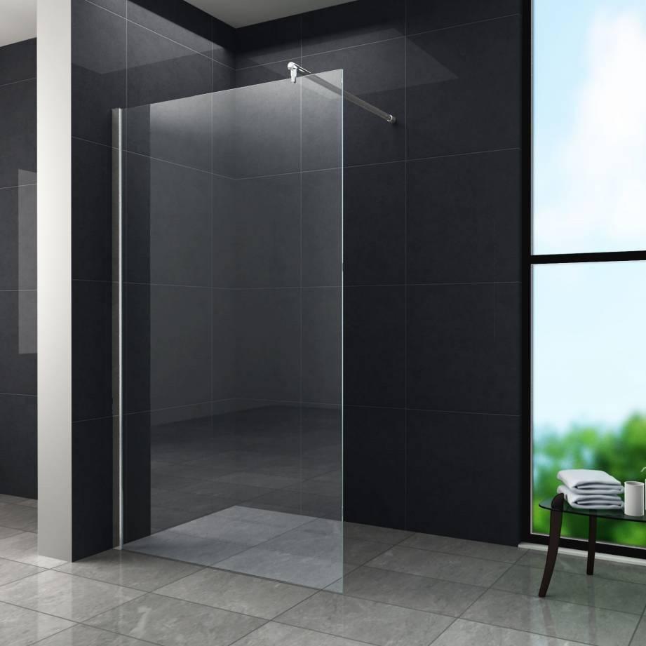 Aqua-Eco Inloopdouche 100x200 cm 8mm helder glas