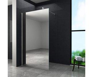 Inloopdouche Met Wastafelblad : Inloopdouche aqua mirror 10 mm 120 x 200 cm nano sanidream.nl