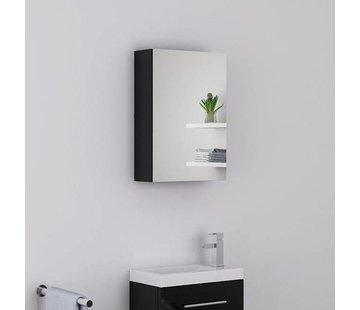Spiegelkast PARTA 40 cm - Zwart