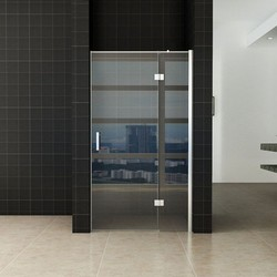 Enter douchedeur 80(60-20) x 200 nisdeur helder glas