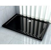 Rheiner douchebak 100x80x5 cm rechthoek zwart