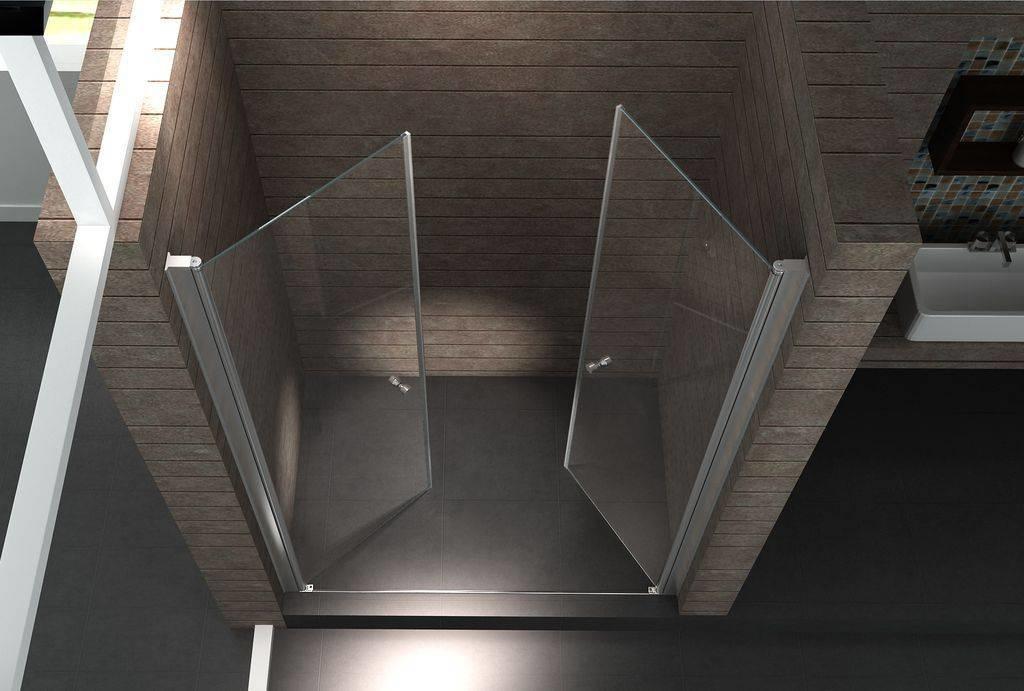 Een swingdeur douche, een bewuste keuze