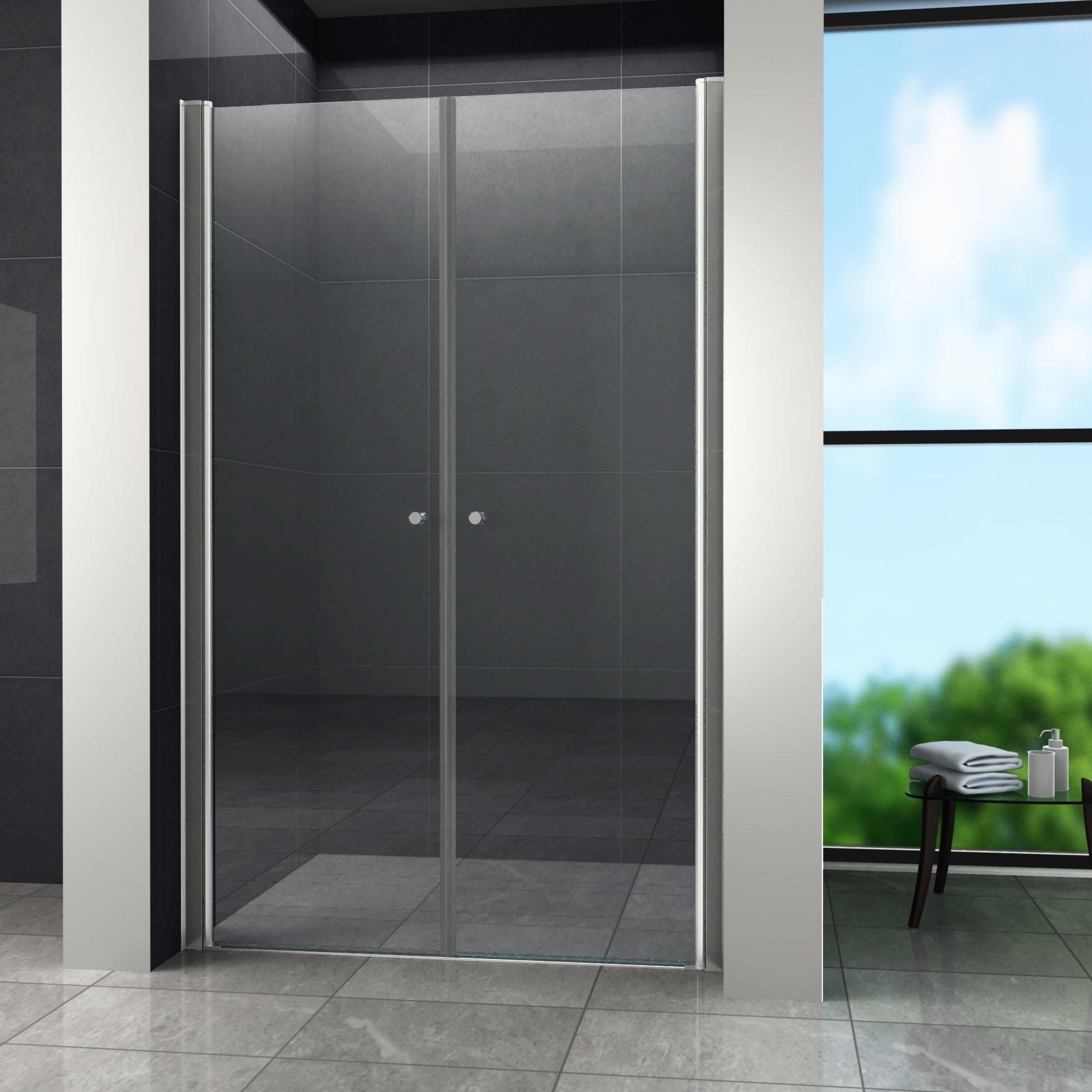 Swing Douchedeur Pendeldeur 80x180 cm Helder Glas binnen 2 tot 4 werkdagen in huis met voordeel