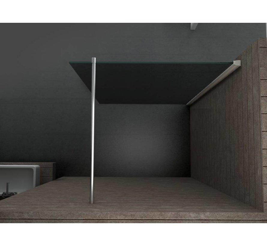 Inloopdouche Aqua -Dark 140 x 200 cm 10 mm veiligheidsglas