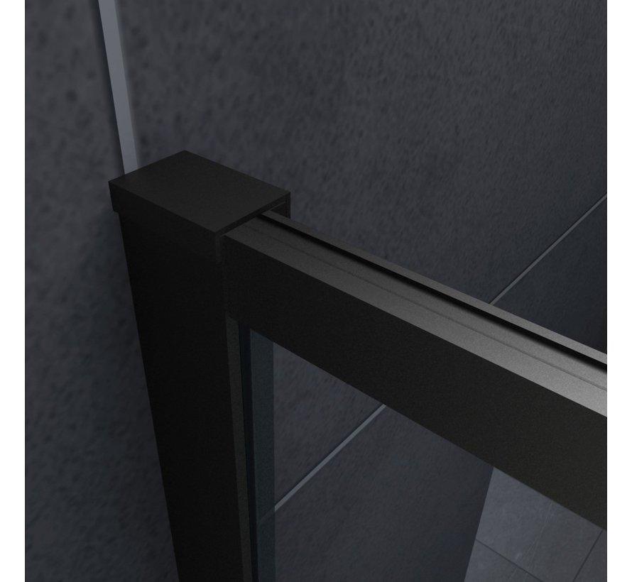 Felin mat zwart douchecabine 120 x 80 x 195 cm