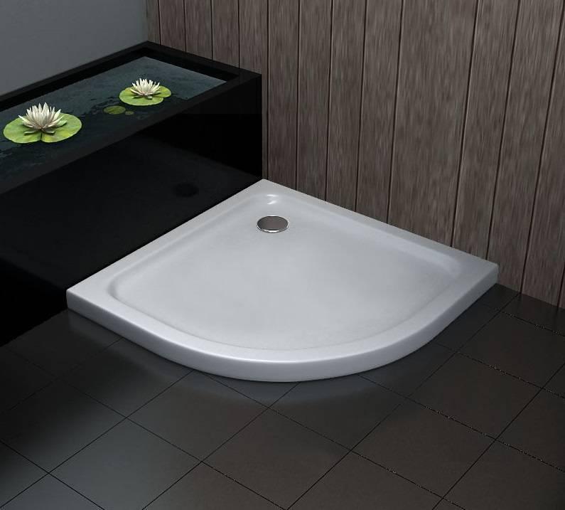 Een goedkope douchebak voor uw badkamer