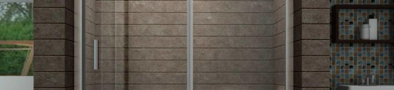 Een schuifdeur douche, ruimtebesparend en praktisch