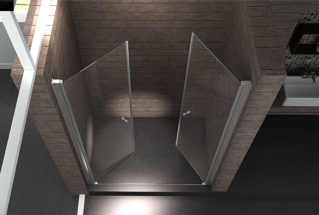 Een mooie glazen douchedeur voor een subliem resultaat