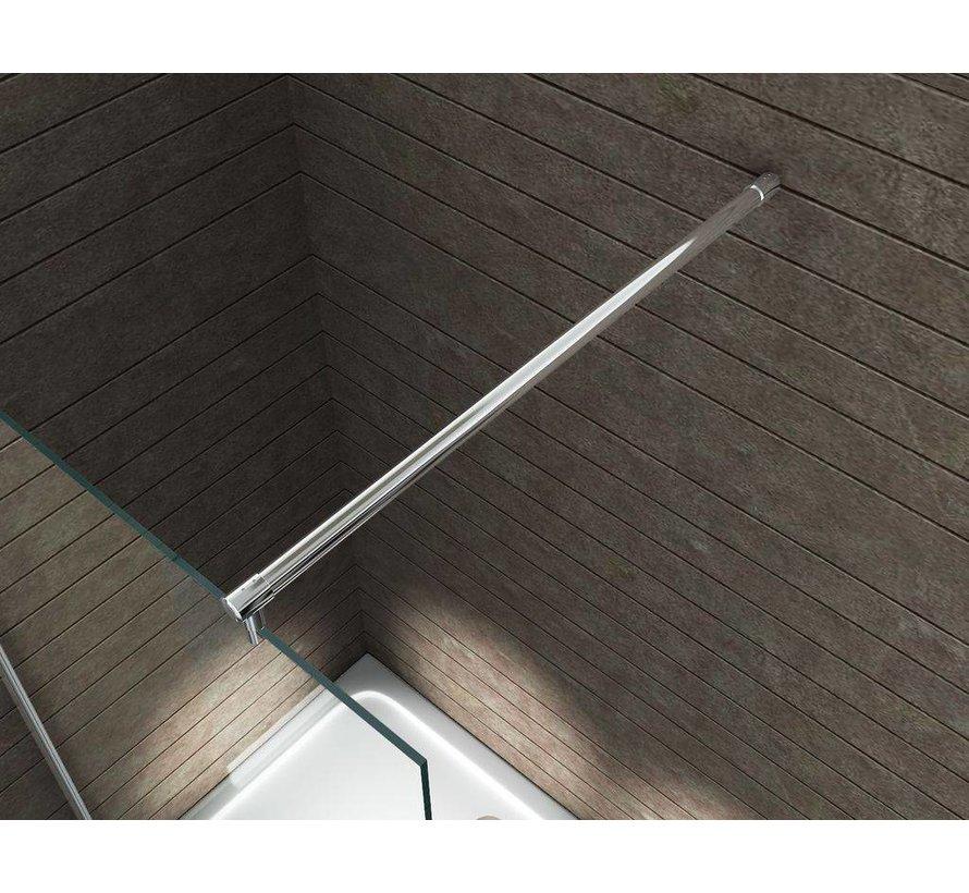 Aqua-Extra Inloopdouche 120 x 180 cm 10 mm helder glas