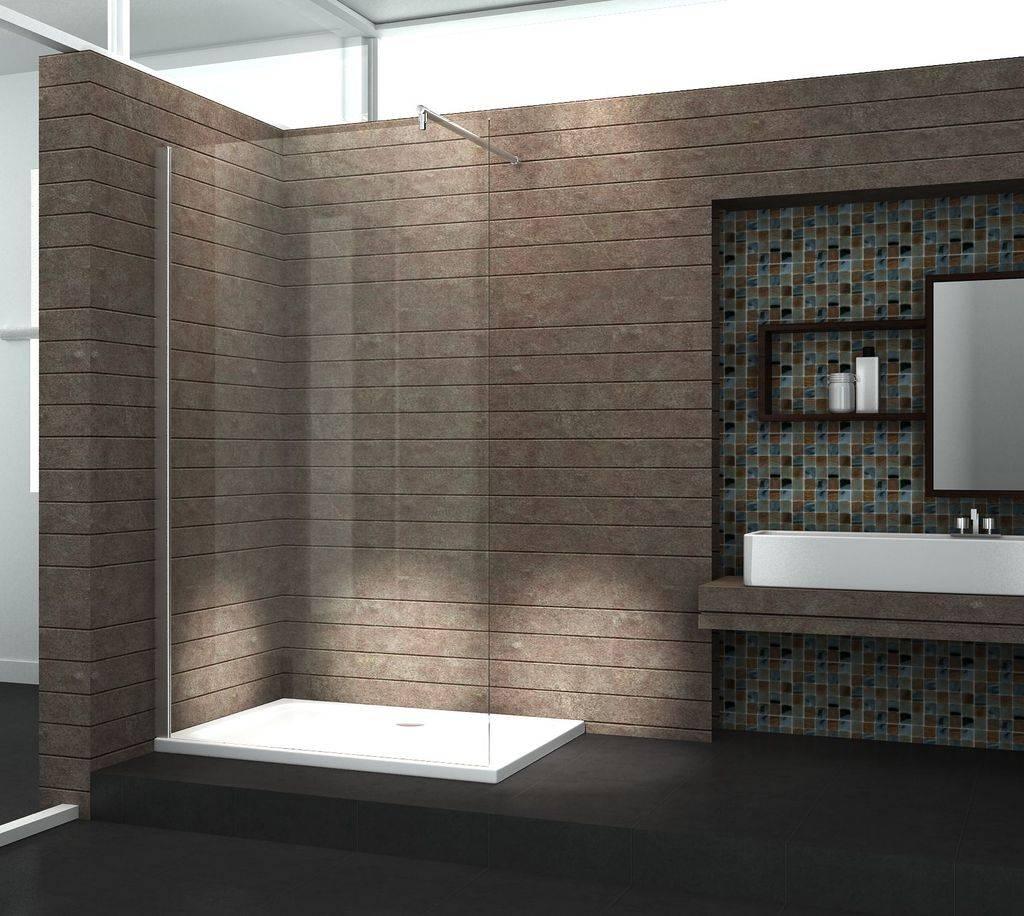 Prijs Glazen Wand Inloopdouche.Aqua Extra Inloopdouche 138 X 220 Cm 10 Mm Helder Glas