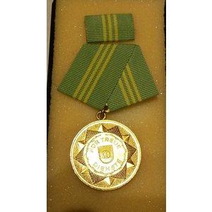 Medaille für treue Dienste Volkspolizei in Gold