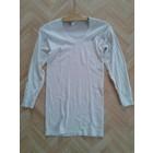 NVA Unterhemd lang weis Gr 5