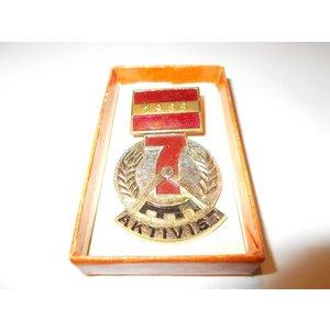 Medaille Aktivist des Siebenjahrplanes 1965