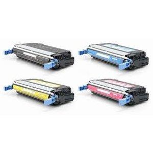 Set 4X alternatief Toner voor Hp 643A Color Laserjet 4700