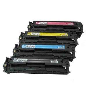 Color Laserjet CM1312>tonerset HP CB540set voor de HP CP1215 CP1217 ..canon 716 HP125 NIEUW