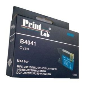 Brother LC1240 1280 CYAN PRINTLAB B4041 19ml compatibel XL
