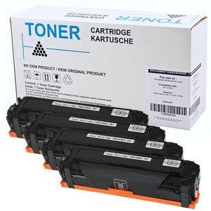 Set 4X alternatief Toner voor Hp 312A 312X Laserjet Pro 400 M476