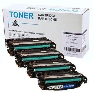 Set 4X alternatief Toner voor Hp 648A 649X Color Laserjet Cp4525