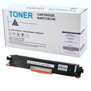 alternatief Toner voor Hp 126A Ce310A Laserjet Cp1025 zwart Canon 729