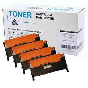 Set 4X alternatief Toner voor Dell 1230C 1235Cn