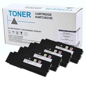 Set 4X alternatief Toner voor Dell C3760 C3765