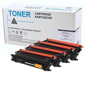 Set 4X alternatief Toner voor Brother Tn135 Dcp9040Cn Hl4040Cn